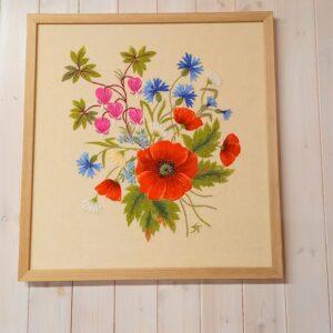 tikitud lilled